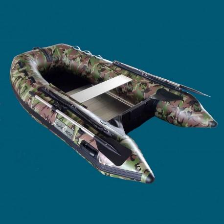 Bateau pneumatique Charles Oversea 2.7cc camouflage
