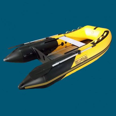 Bateau pneumatique Lemarius Mistral 270 jaune et noir